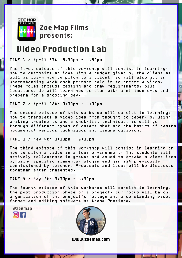 Video Production Lab: Take 3 — Distill Creative