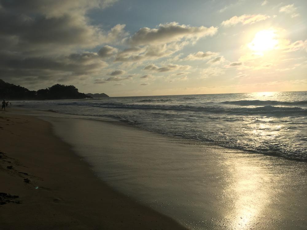 Beach at San Pancho Sunset.jpg