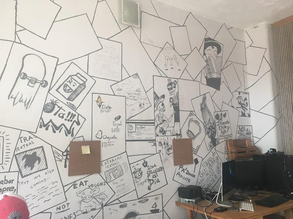 Inside look at  Burrito Piñata: Estudio Creative , a coworking space in San Pancho, Nayarit
