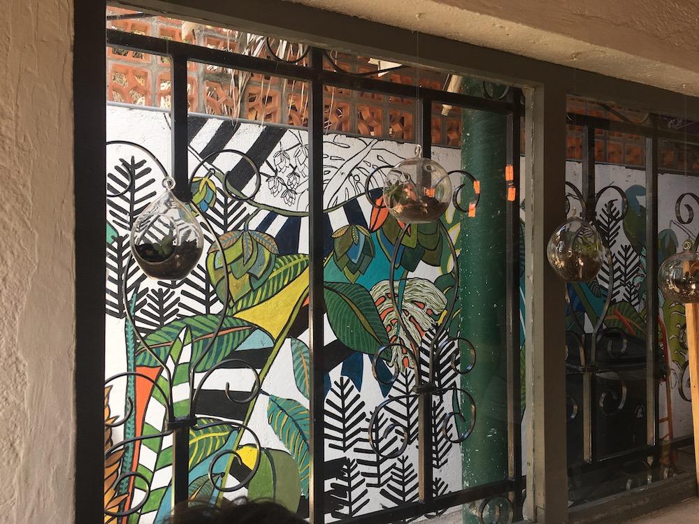 Mural at Cervecería Artesanal in San Pancho