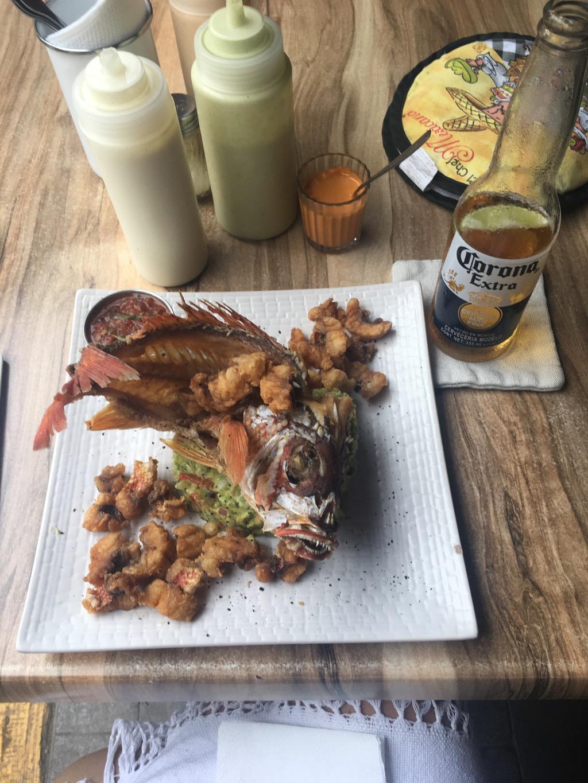 Lunch at Barracuda