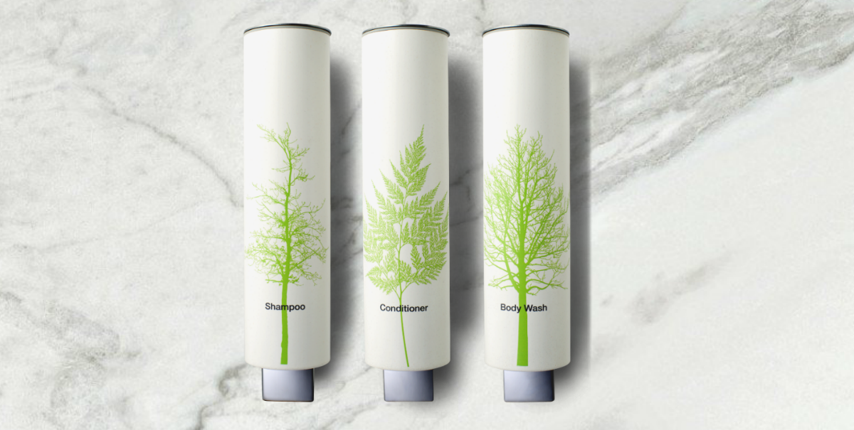 GREEN LEAF SPA SHAMPOO DISPENSERS