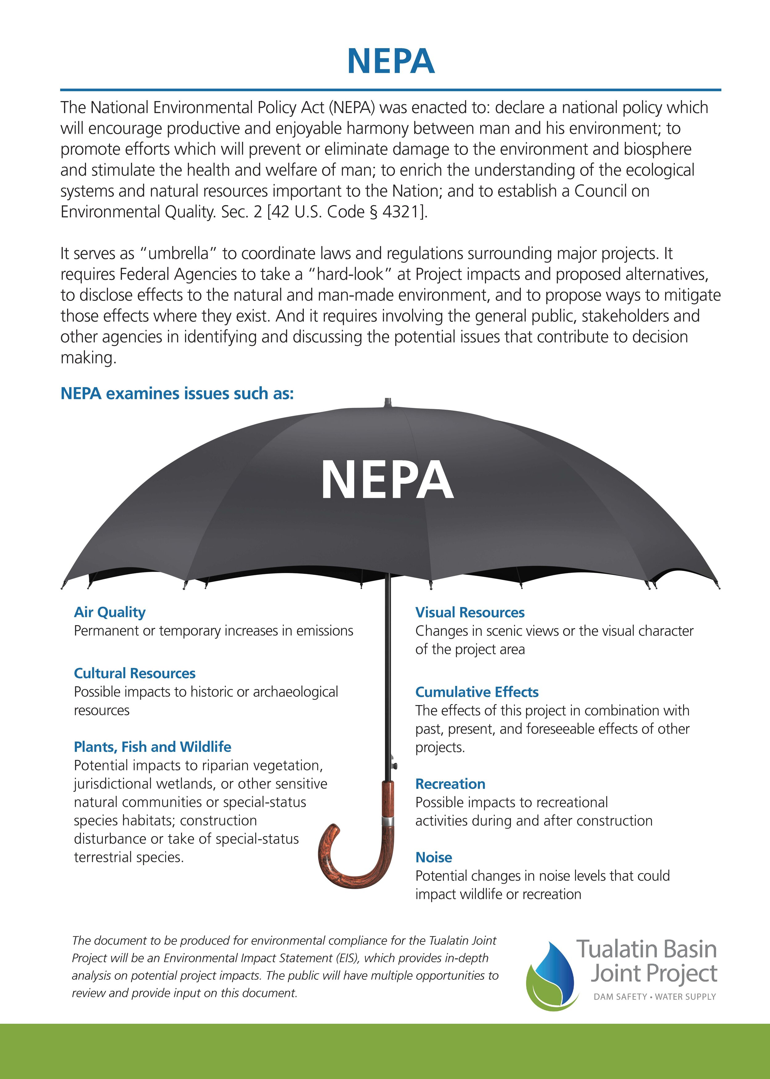 Copy of Information about the National Environmental Policy Act (NEPA)
