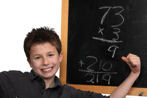 Create math confidence in your child.