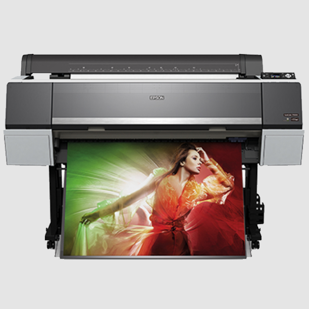 Fine Art Printing  We print on Epson's latest P9000 SureColor printer with 11 colors for the widest print gamut.