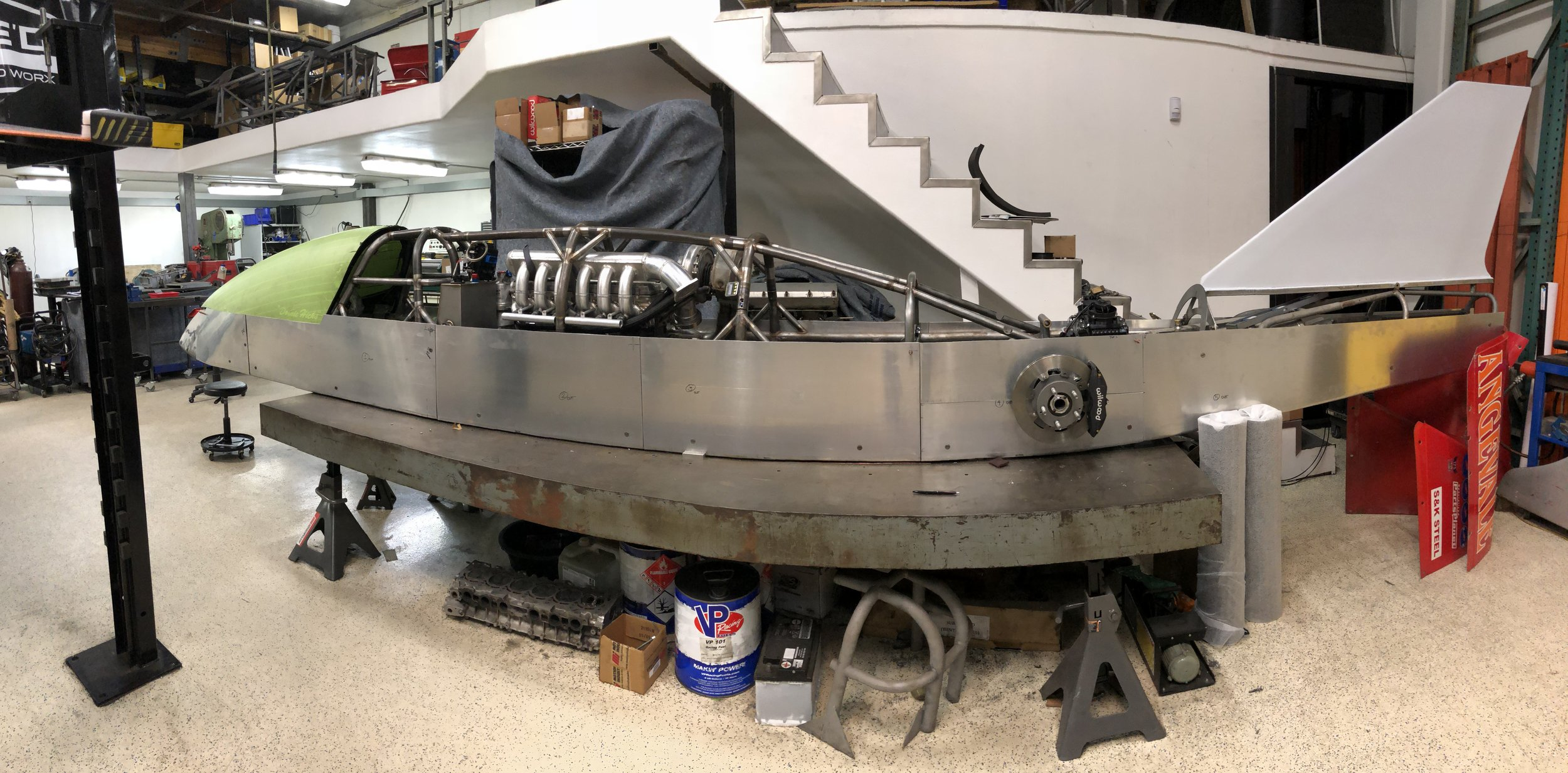 f/bfl 1500hp 2jz lakester built here at aced