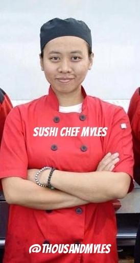 Sushi Chef Myles