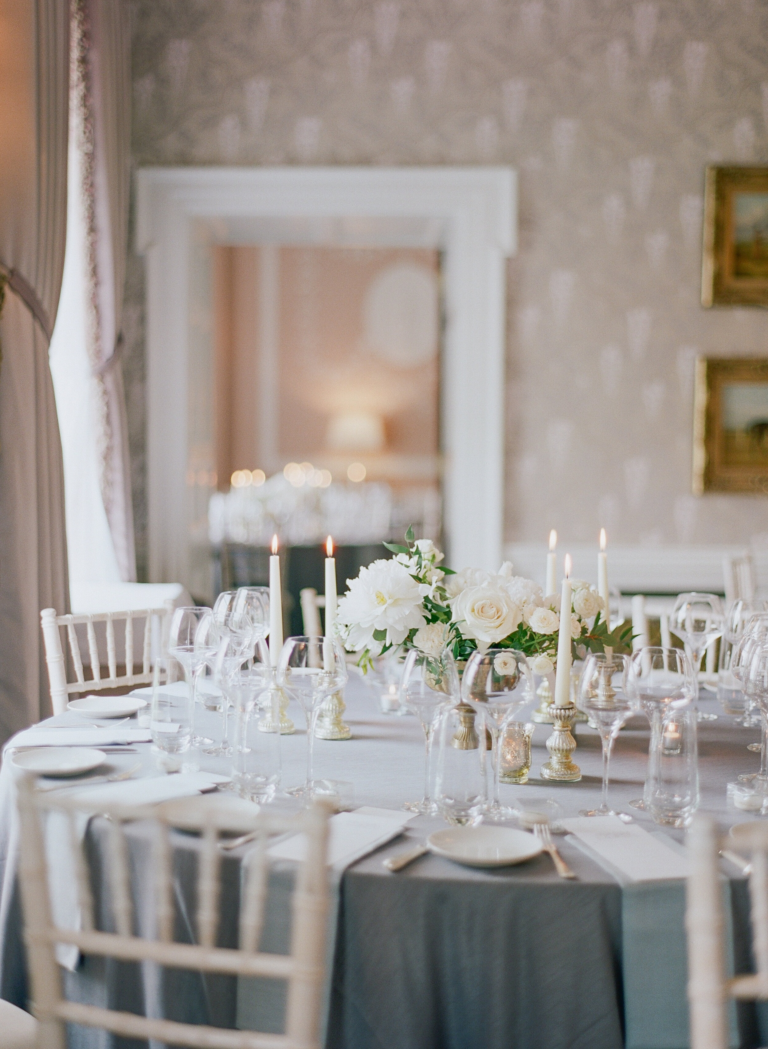 Thank you Kelly and Paddy for trusting in me to create elegant florals to elevate the aesthetic of your wedding day.