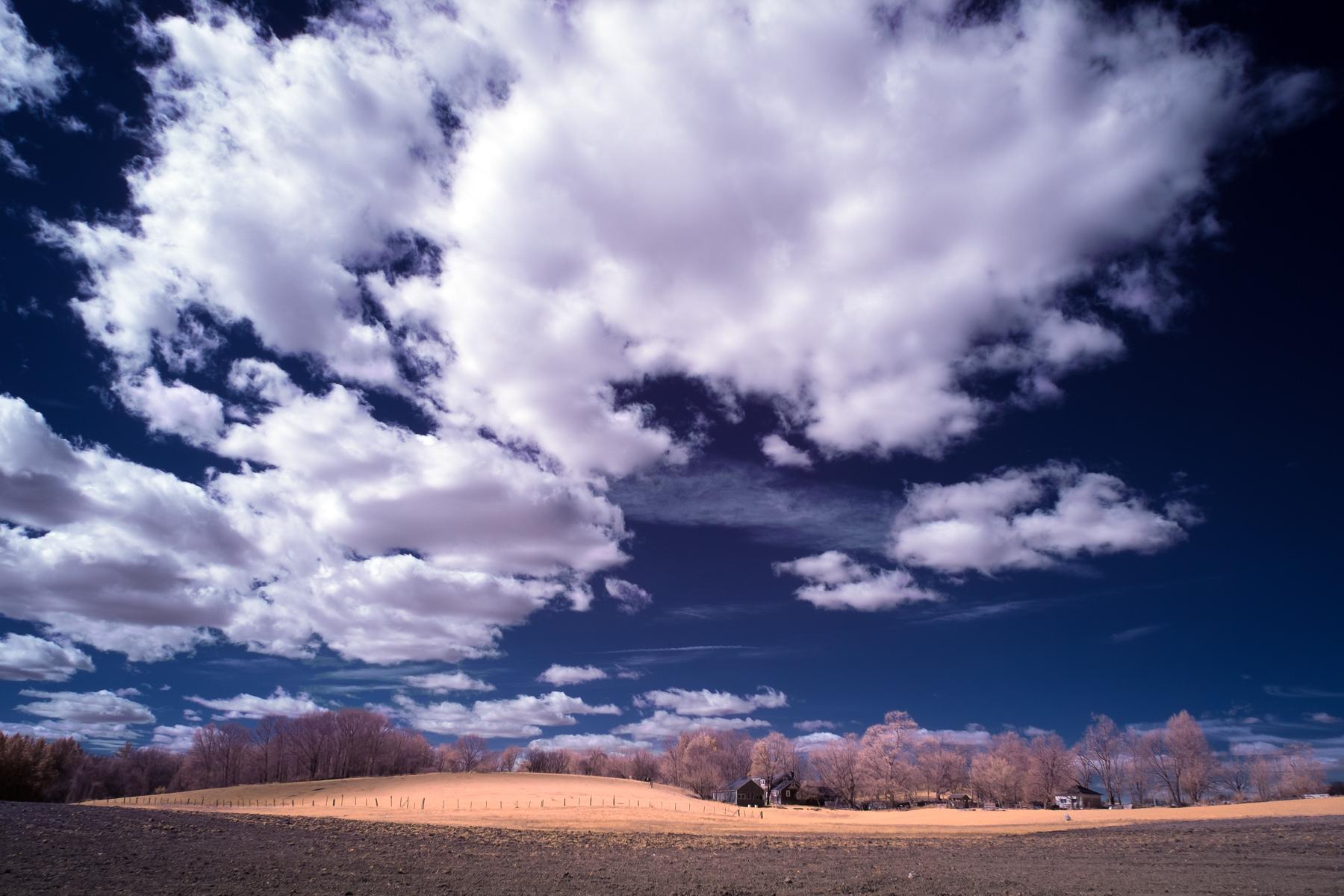 Clouds over Southborough farm