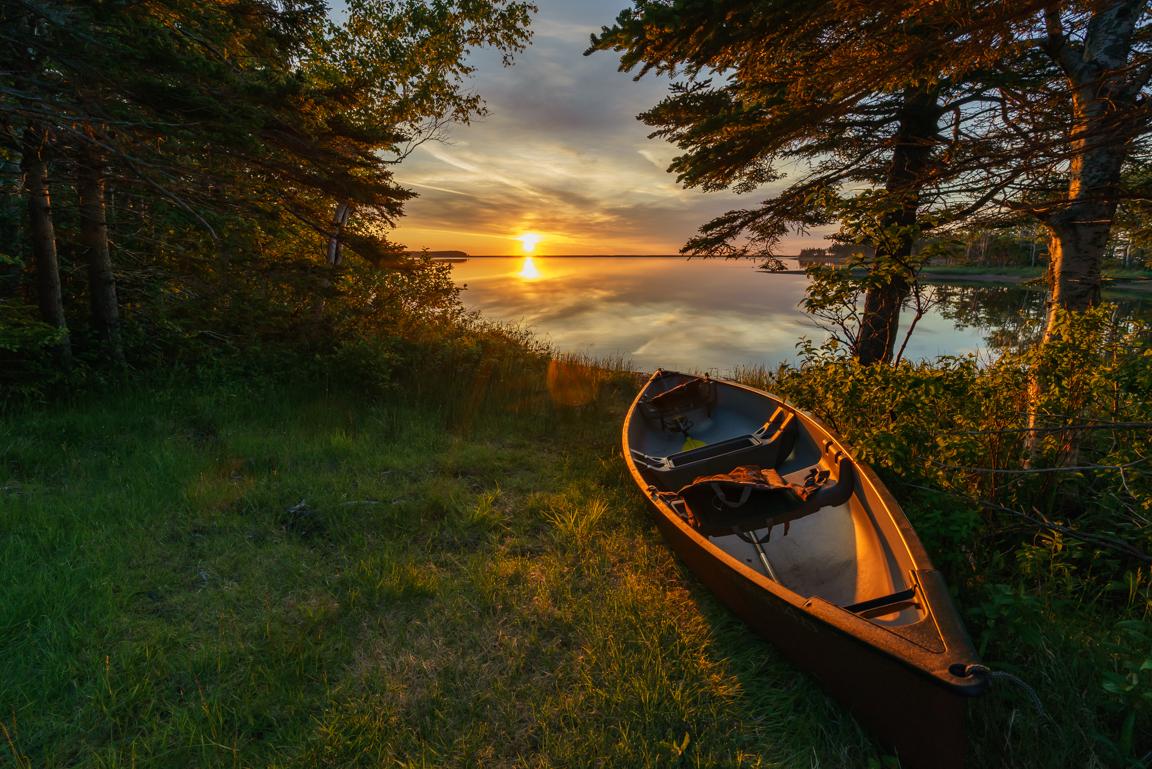 """A good start"" - Aspy Bay, Cape Breton Island, Nova Scotia - July 1, 2015"