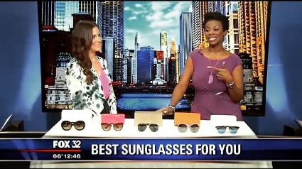 Fox 32 Chicago- Best Sunglasses for your Face