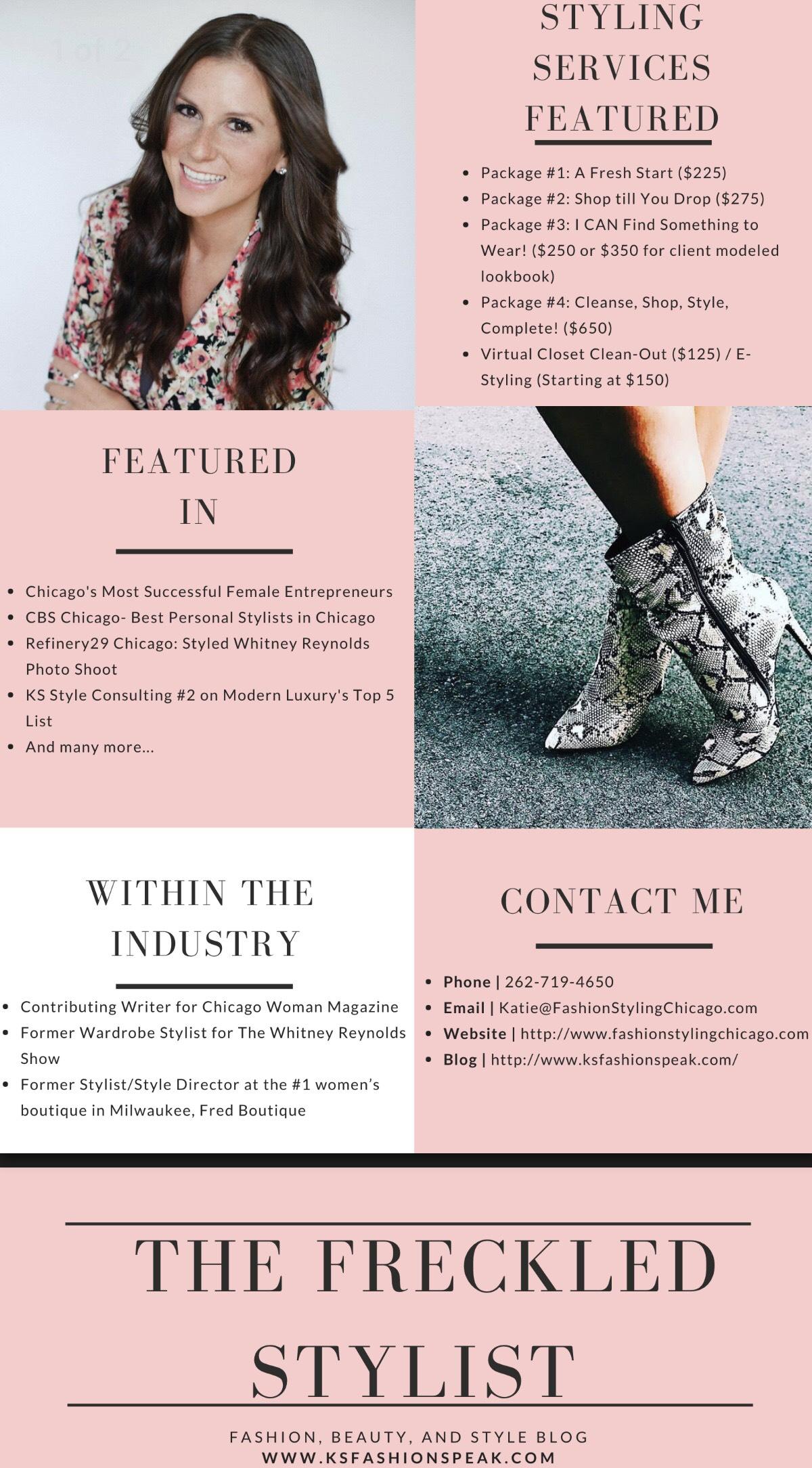 Media Kit — KS Style Consulting- Personal Shopper & Wardrobe