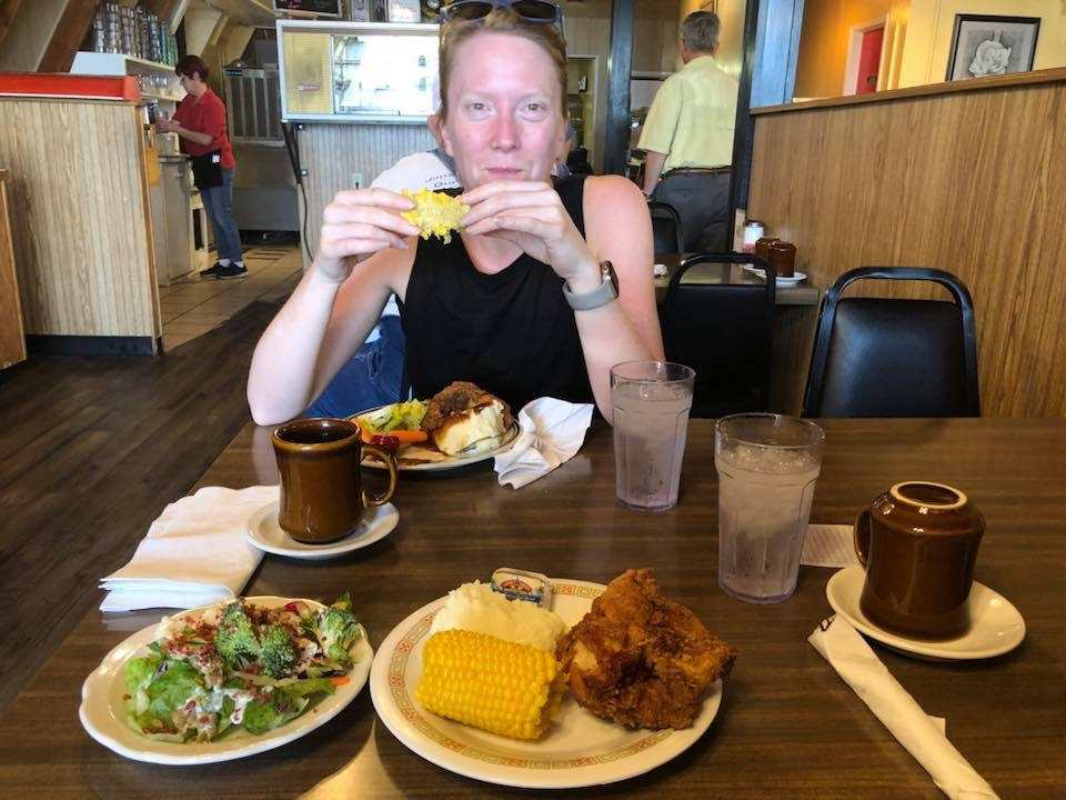 CBCG coach, and author of this blog and the training plan, Molly Balfe practicing good nutrition