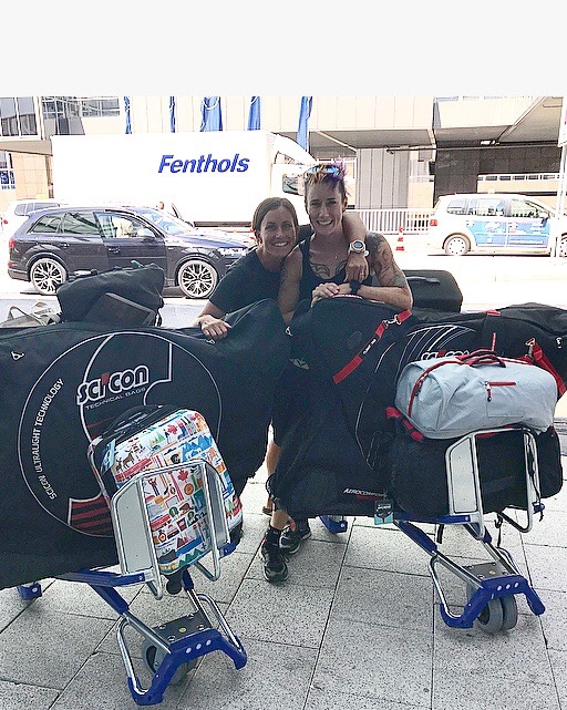 CBCG friends Rachel McBride and Steph Corker traveling to compete in Ironman World Championships, 2018