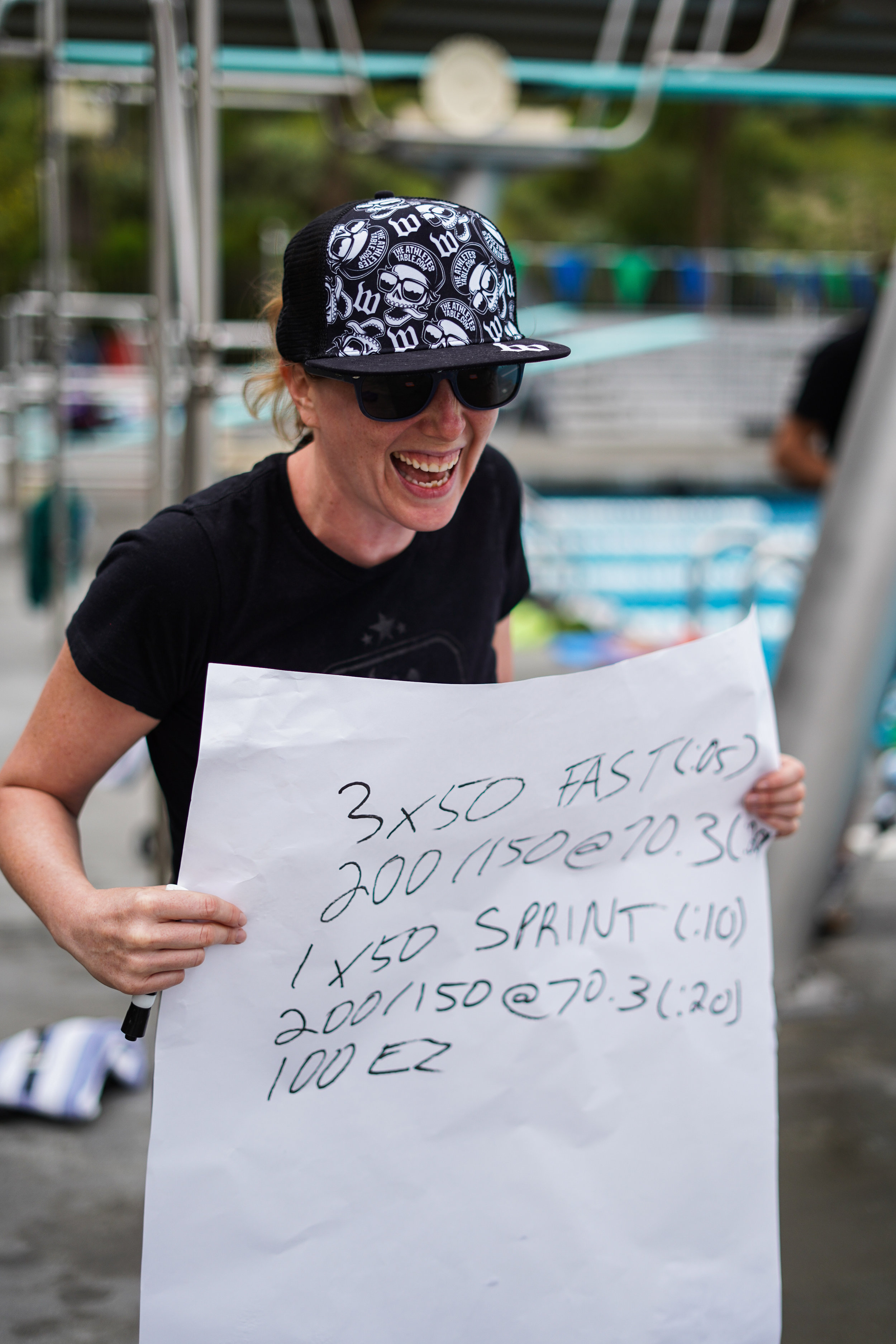 The author on deck at a recent training camp, image courtesy of Dylan Haskin