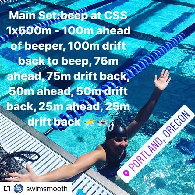 Honored to get one of our workouts posted to the @swimsmooth feed, featuring @jennygreeve one of our faves. Want to experience this set? Come to our October #swimcamp in #hoodriver link in bio. 🏊♀️ 🏊🏼♂️ 🏊♀️ #swimming #swimsmooth @blueseventy @powerbarsport #chrisbaggcoaching @christopherbagg #coaching #swimcoaching #triathlon @mollytri @amyvantassel @wattieink