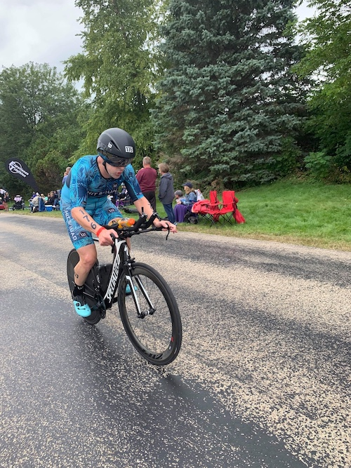 Scott Goodrich at Ironman Wisconsin 2019