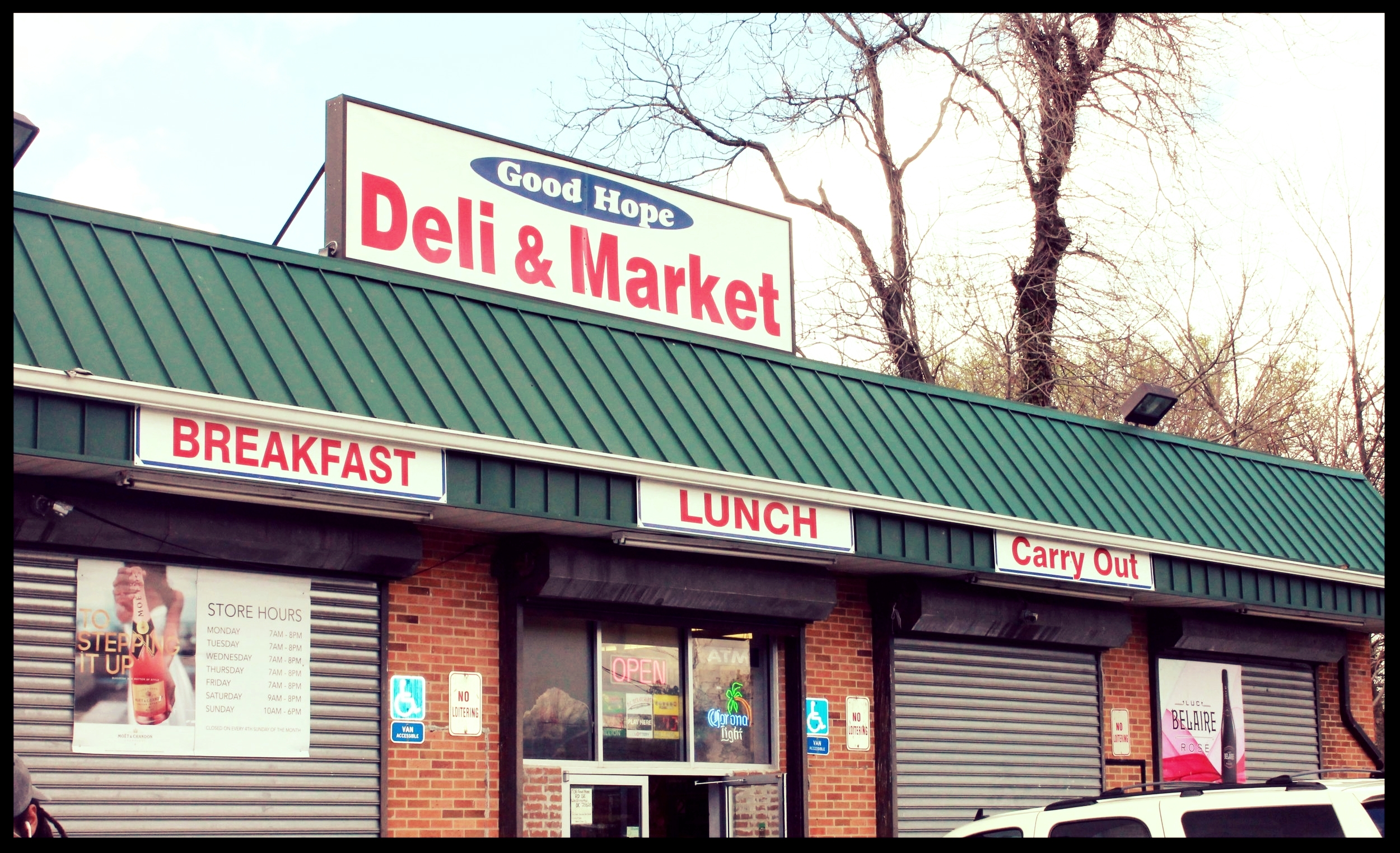 Good Hope Deli, Shot by me