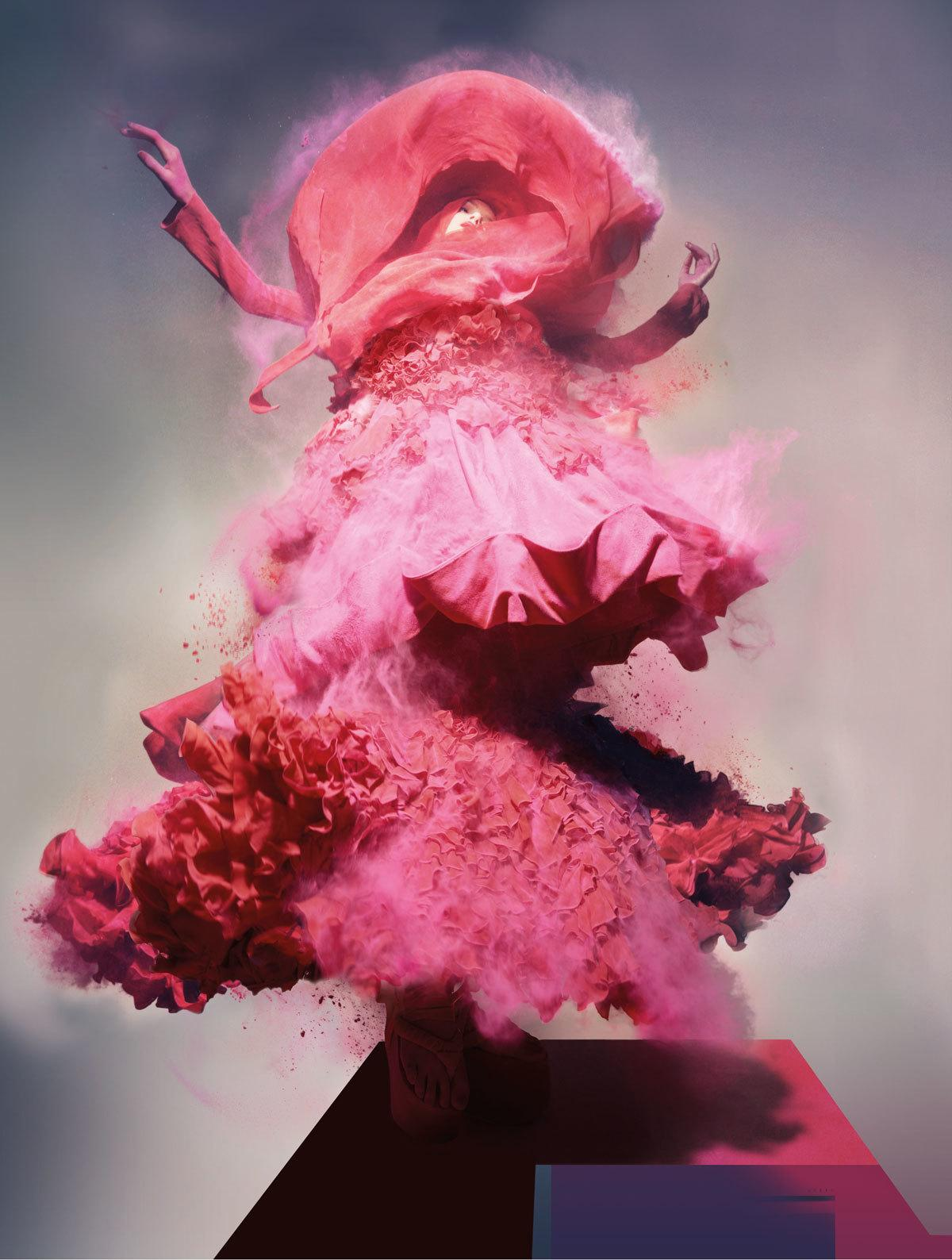 The Hospital Rooms - A collective of world-renowned contemporary artists commissioning their work via a new charity. Aiming to change patients mood and scenery in mental hospital wards, worldwide.Nick Knight, Lily