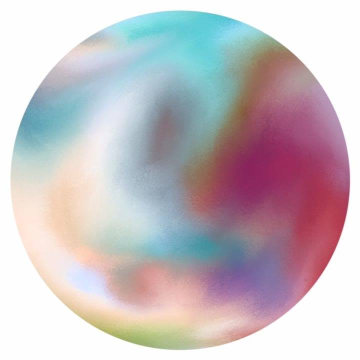 The World Art ~Collective Logo Image by Alison Hawtin 2017