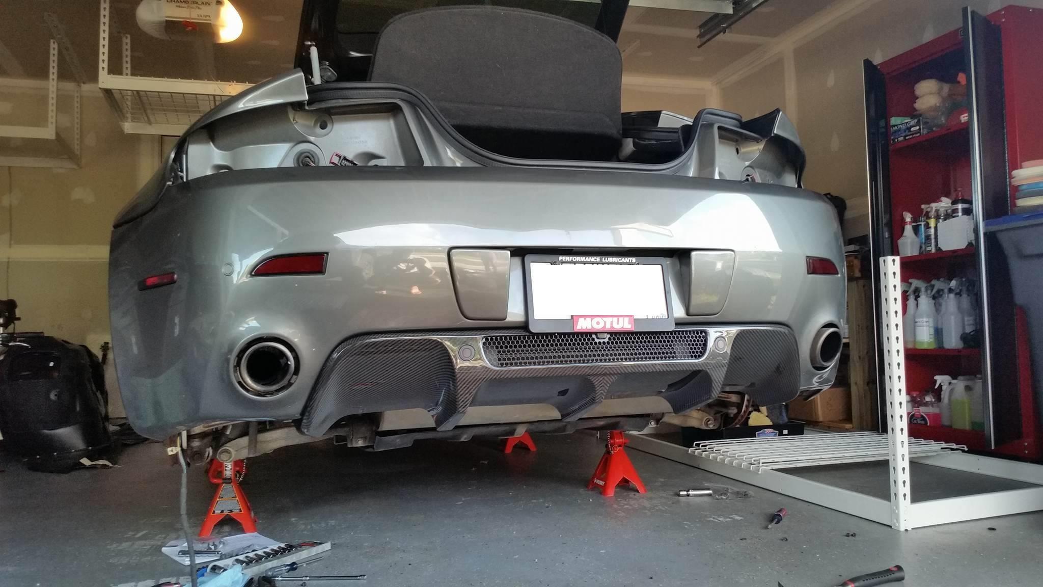 N420 Rear Diffuser Installation Redpants