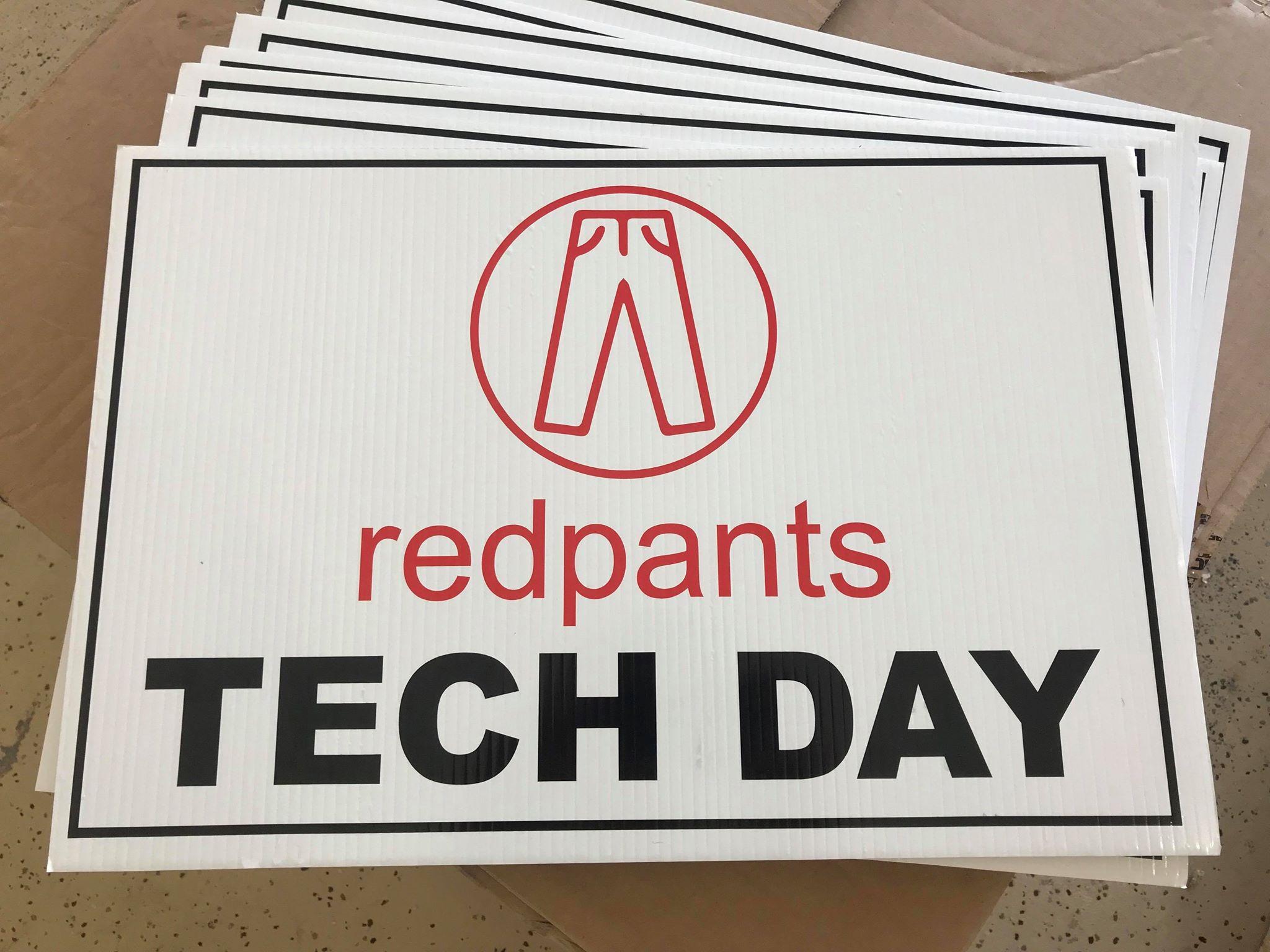 Redpants Tech Day signs.jpg