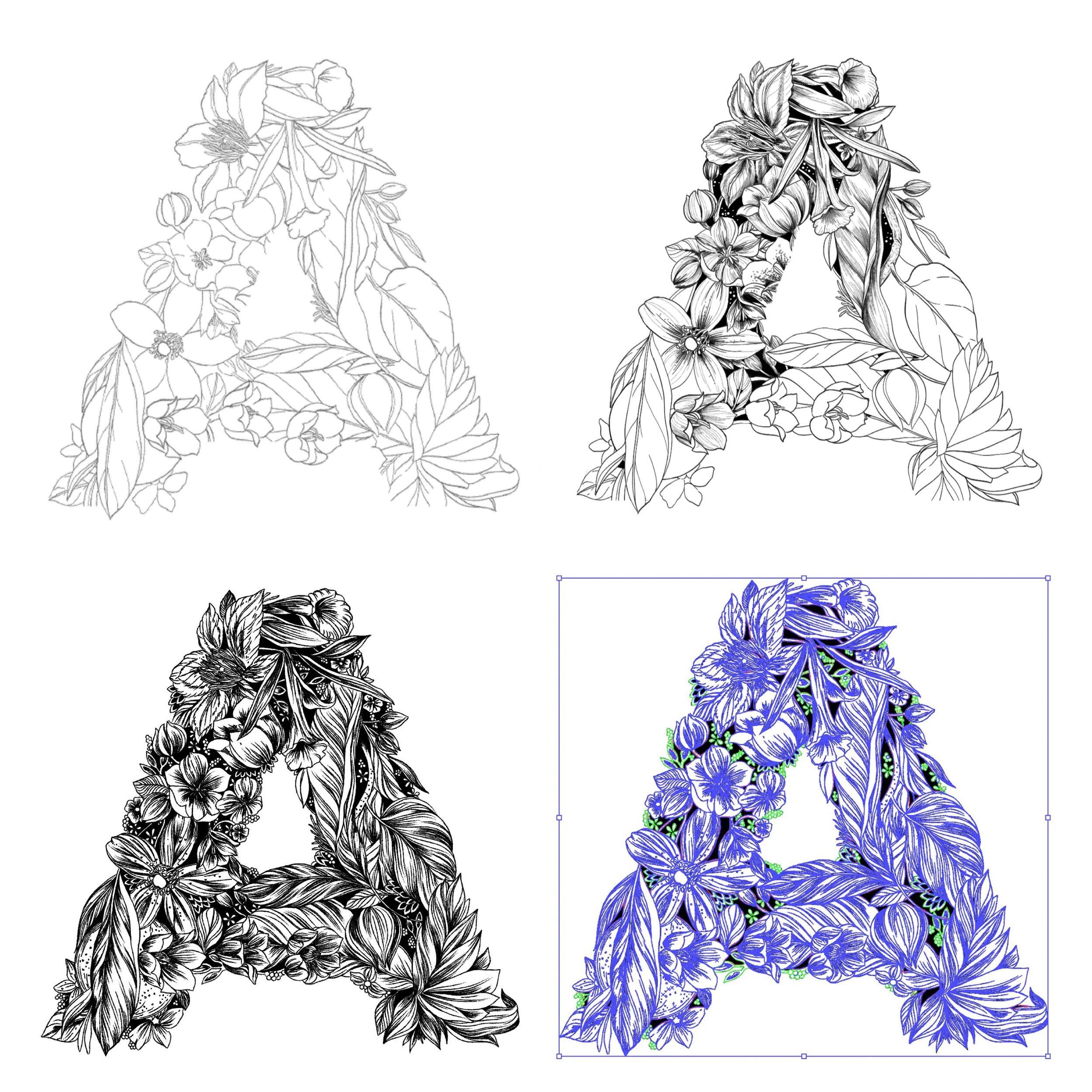 Maggie Enterrios littlepatterns beekman typography illustration.JPG