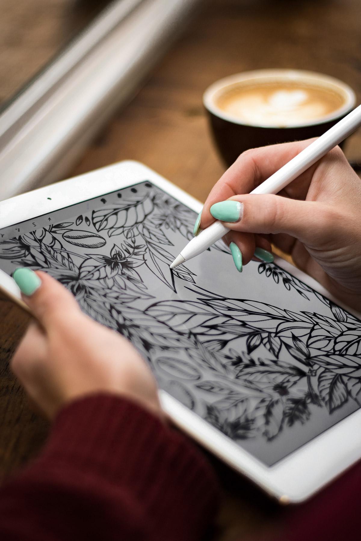 Alpro Maggie Enterrios littlepatterns packaging floral line digital drawing.jpg