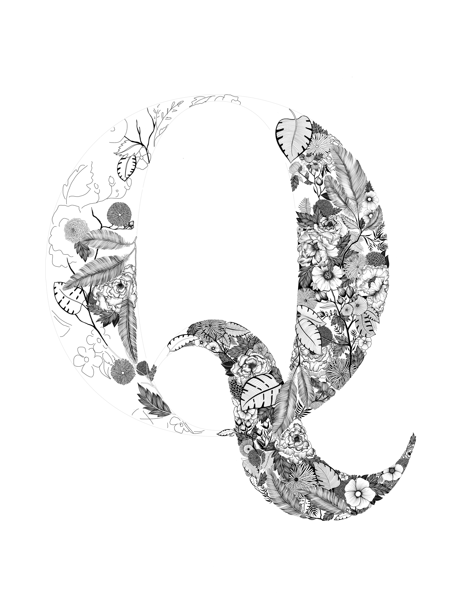 In progress artwork