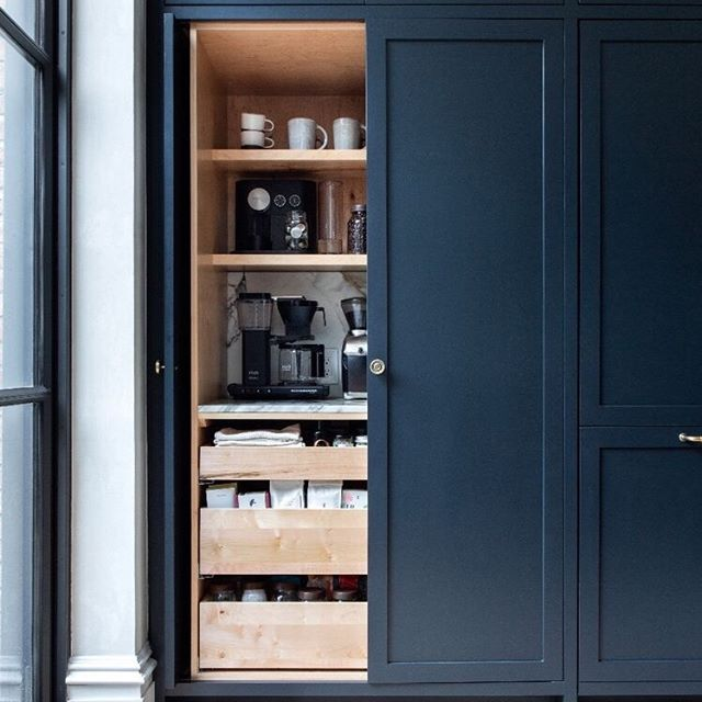 Kitchen Refresh Tip #3: Make a morning cabinet with all the necessities to streamline your morning coffee.  I'm sure many of you have read/heard about morning tips and how to start your day off on the right foot so I'm not going to go into that, but make life easier on yourself and create a cabinet with your mugs, coffee/tea and anything you need for your morning drink within arm's reach of your coffee pot. ⠂ ⠂ ⠂ ⠂ ⠂ ⠂ ⠂ #knoxvilleinteriordesign #knoxvilleinteriordesigner #knoxvillehomes #knoxvilledesigner #designcoaching #interiordesigncoaching #remodeldesigner #kitchendesigner #knoxvilleremodel #knoxvillekitchendesigner #farragutdesigner #knoxvillerentals #ivydesigner #yourstyleyourstory #coffeelover #coffeeholic  #prettylittlething #homegoods #homegoals #ilovemyinterior #kitchenorganization  #morningcoffee #kitchendesigner #kitchentips #designtips #kitchenrefresh #coffeecabinet  #kitchendesign