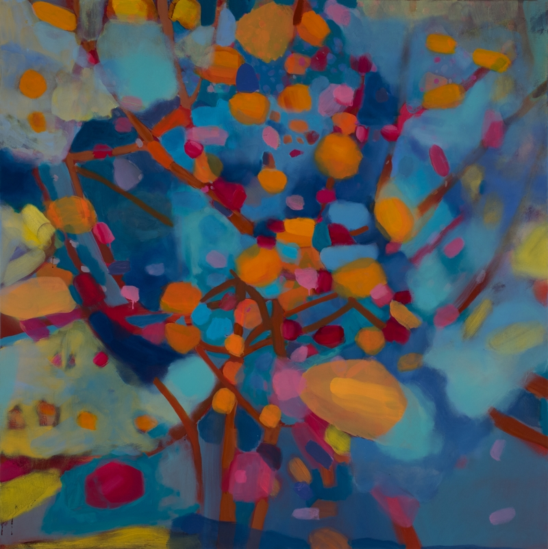 New Year, 60''x60'', oil on canvas, 2014