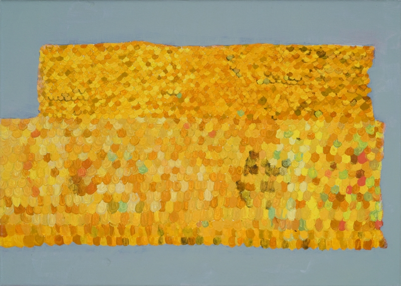 Gold Roof, 18''x12'', oil on canvas, 2013