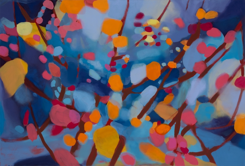 Commission Piece: New Year 2, 48''x60'', oil on canvas, 2015