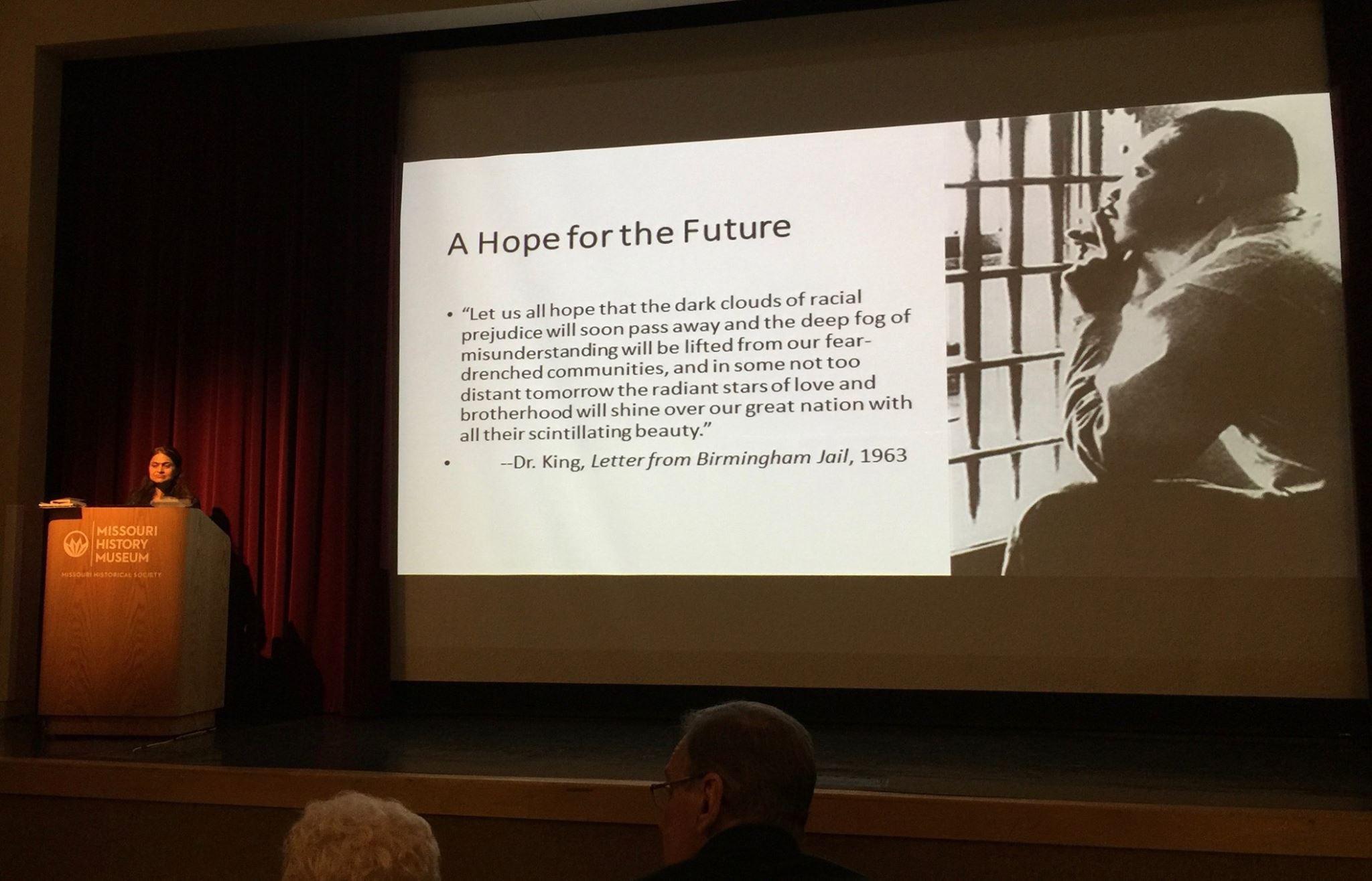 Nartana P's Gandhi-MLK talk.JPG