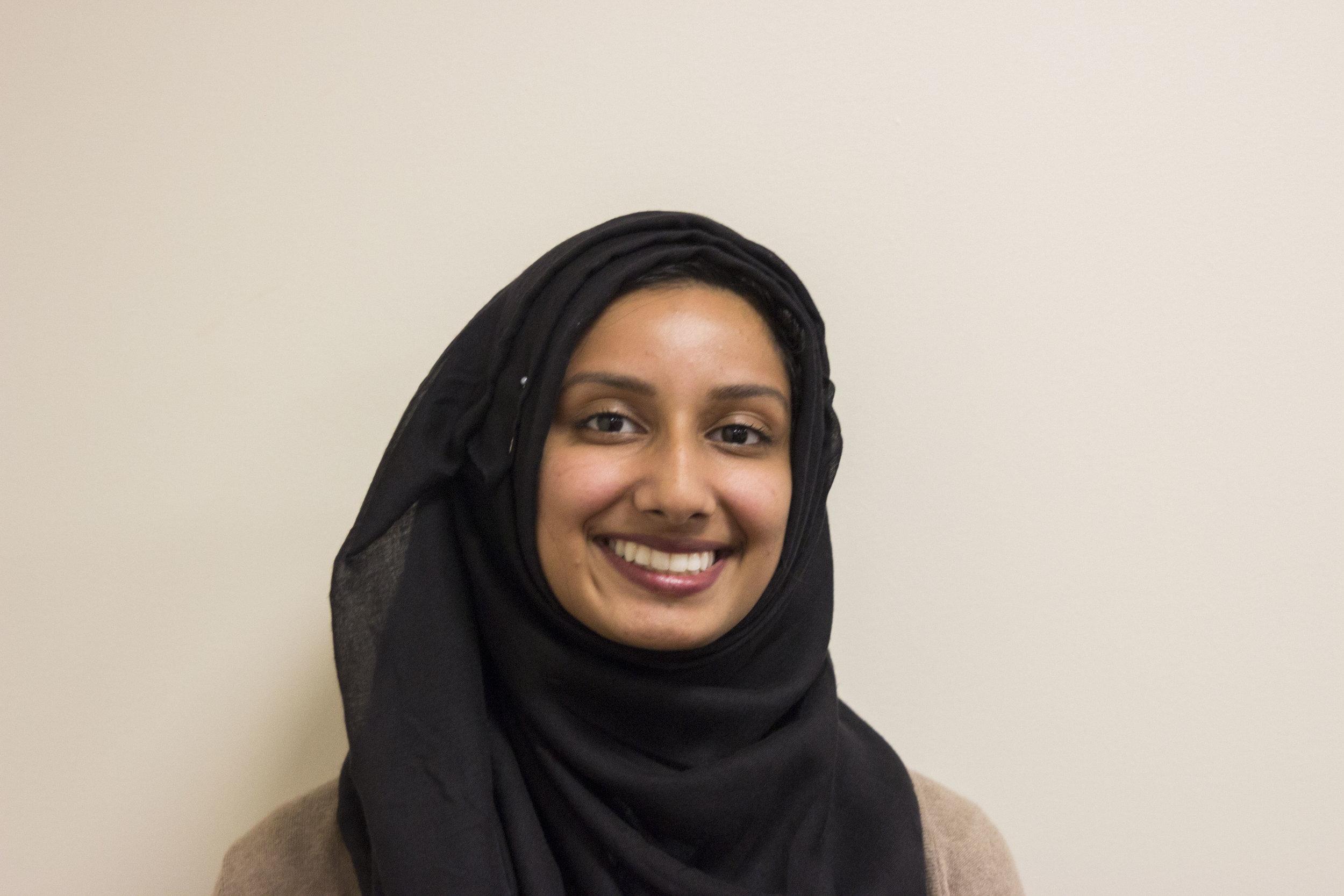 sidrah jamal - REGISTRATION coordinator