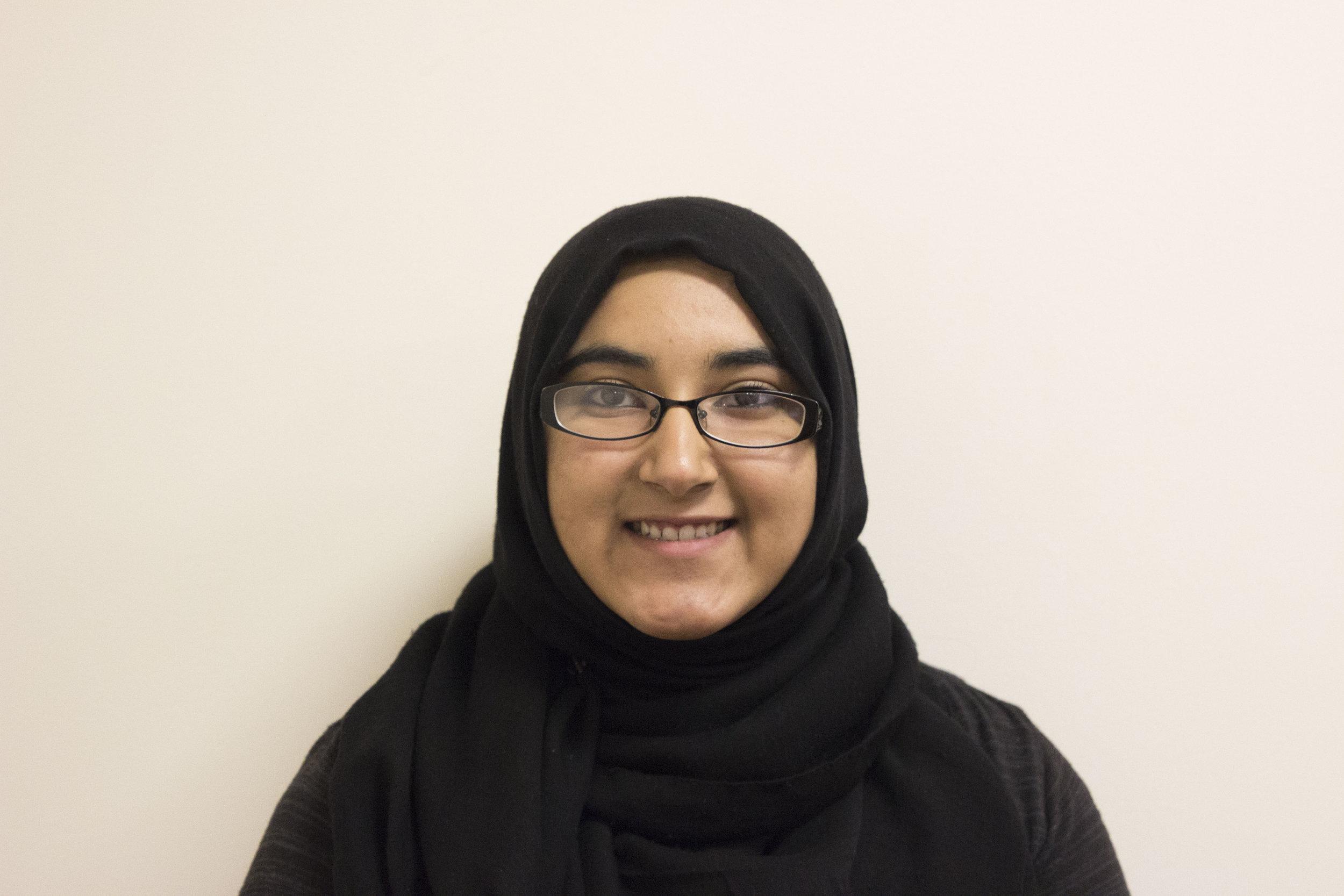 abeera naeem - REGISTRATION COORDINATOR