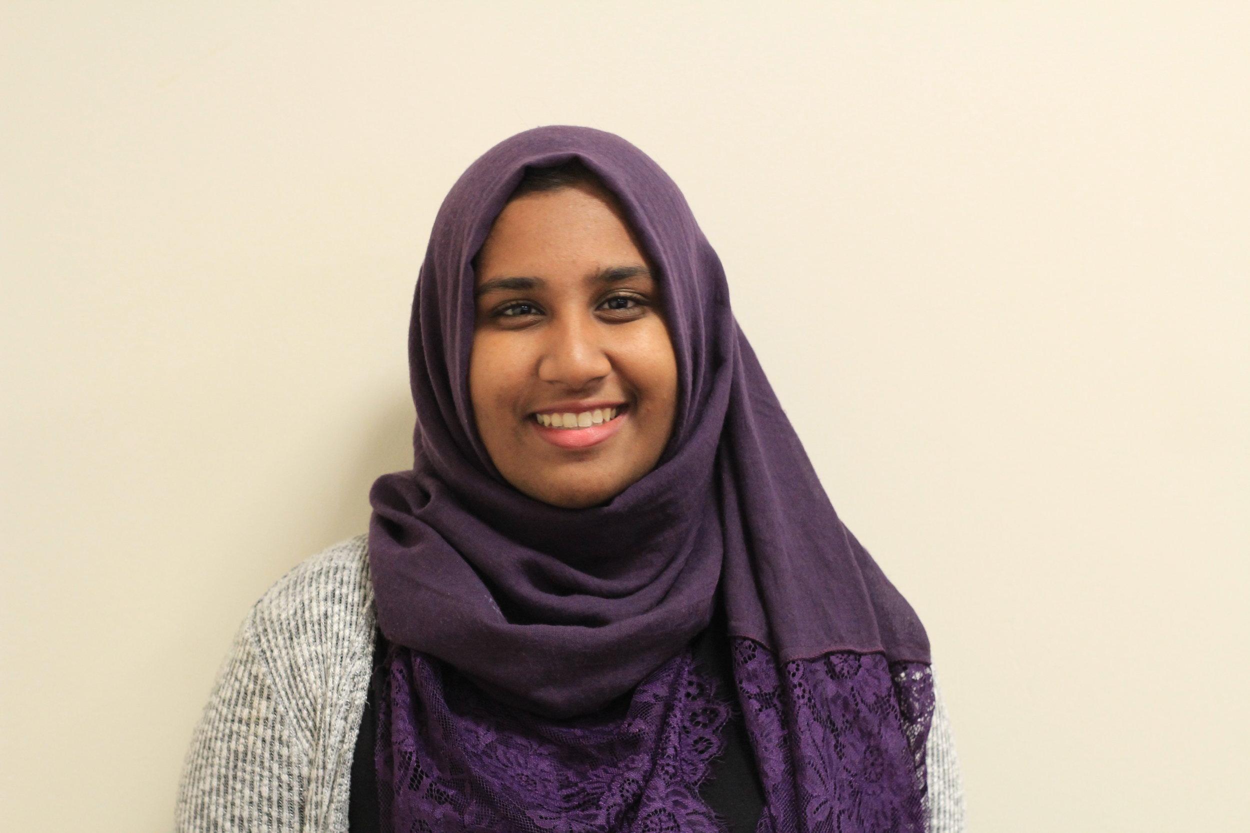 aneesa ahmed - logistics coordinator