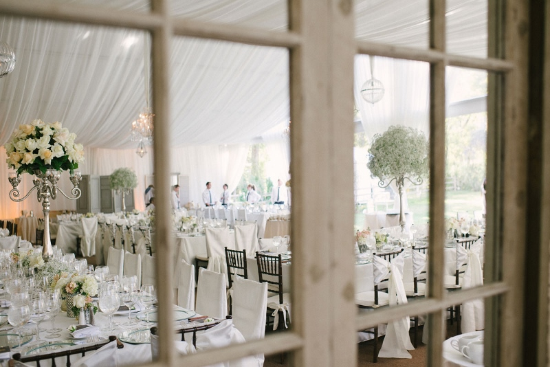 """Reflections"" of a Luxe Wedding"