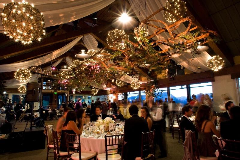 Sundeck Wedding - Trellis and Grapevine Lights