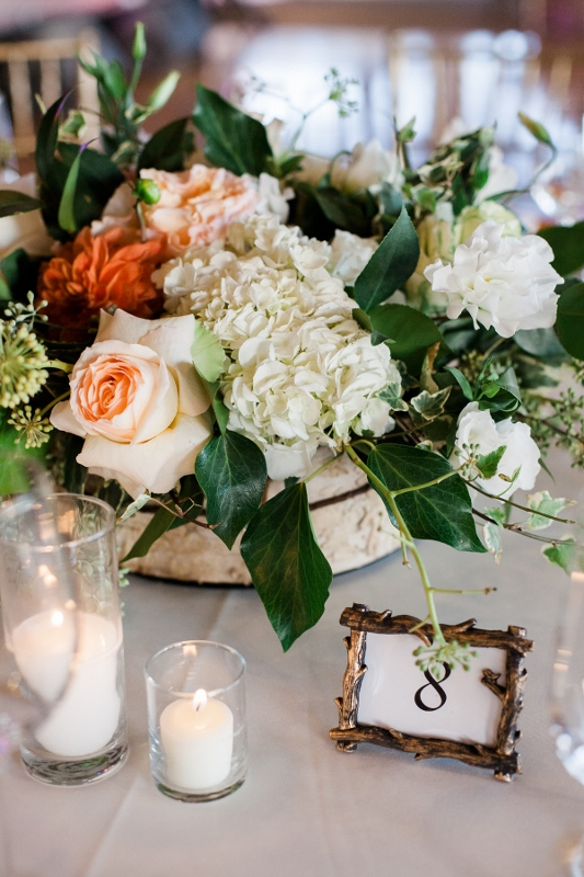 Centerpiece with Juliette Roses