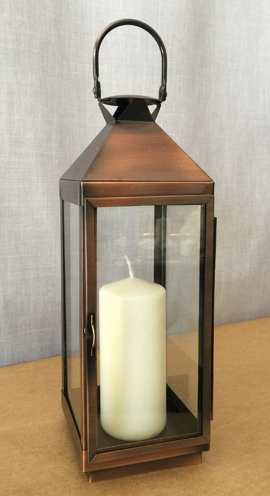 Polished Copper lantern