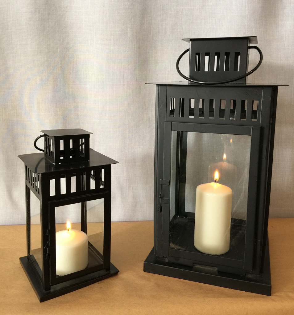 Lantern – Black metal craftsman