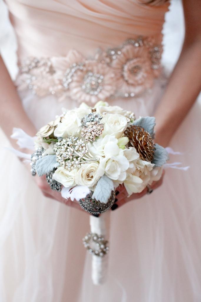 Beautiful Winter Jewel Bouquet