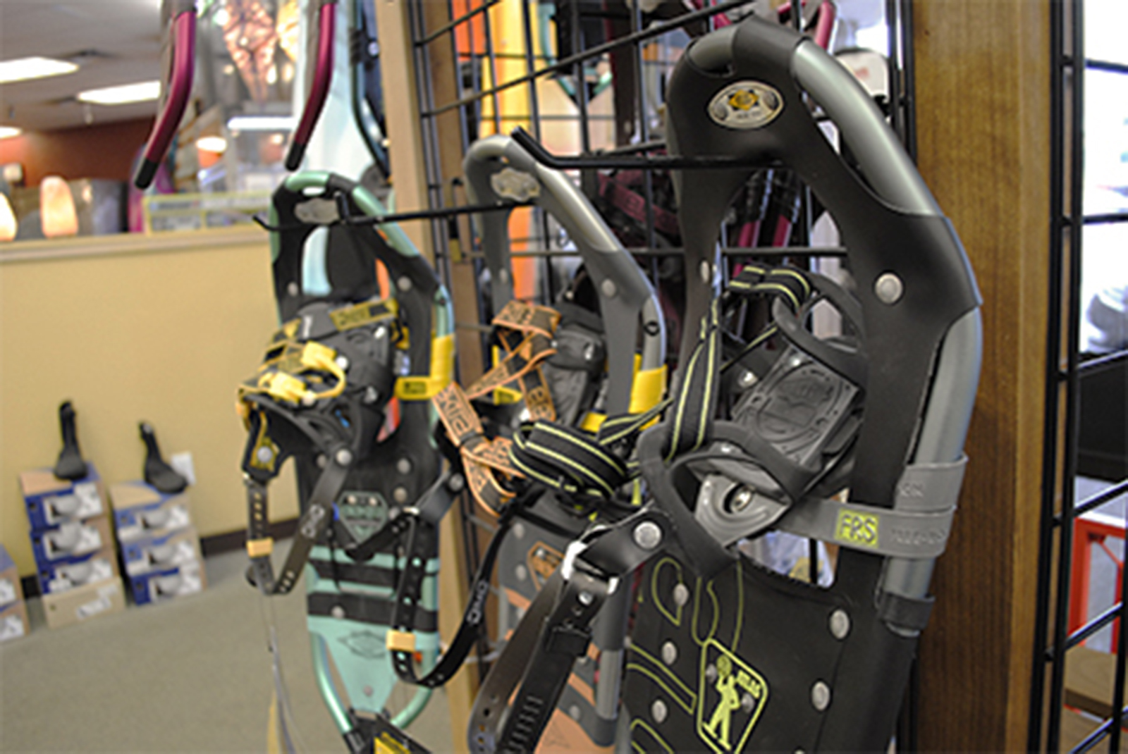 Snowshoe rentals are $10. Kayaks and SUPs are for rent in the boating months.