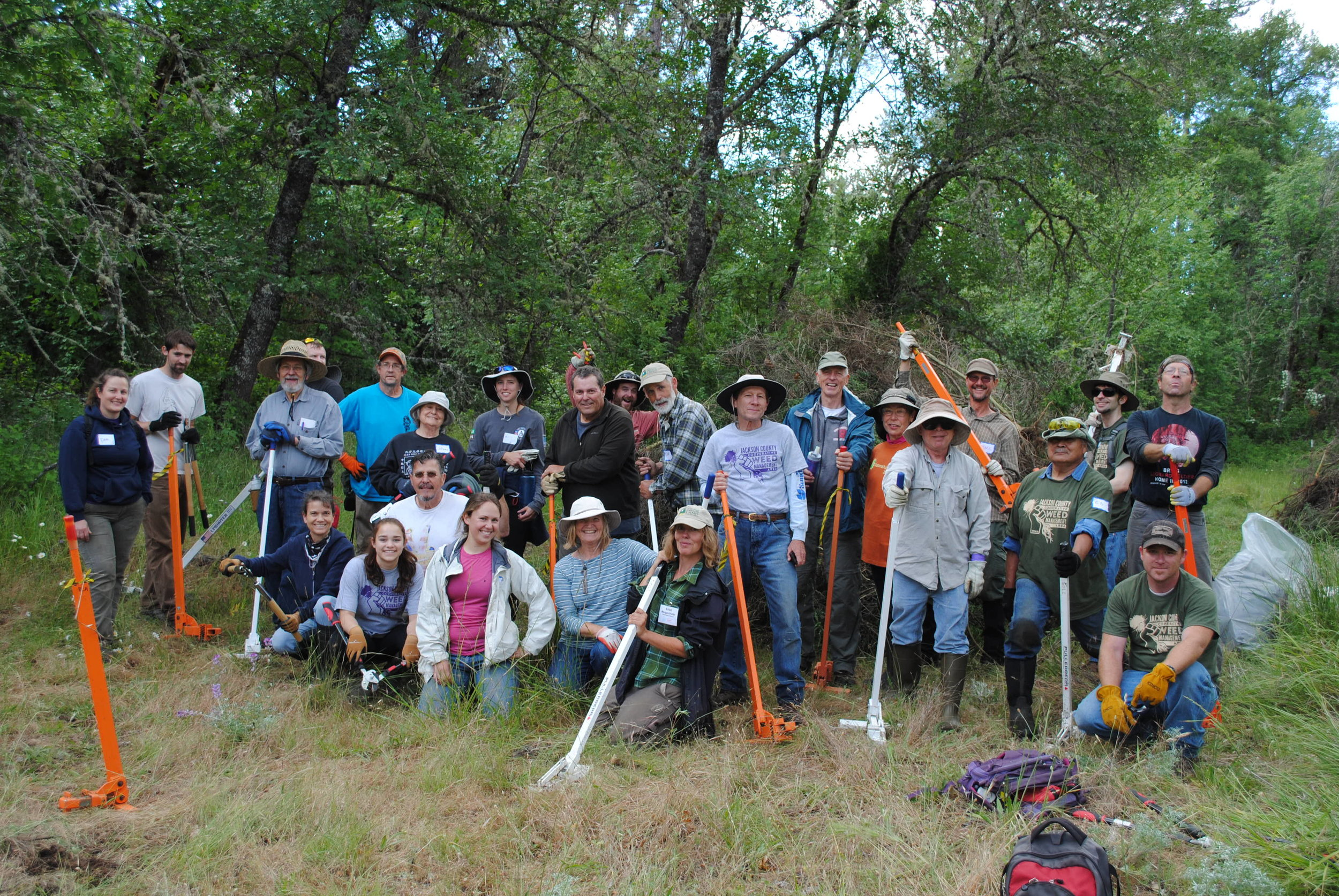 Jackson County Let's Pull Together at Rogue River Preserve