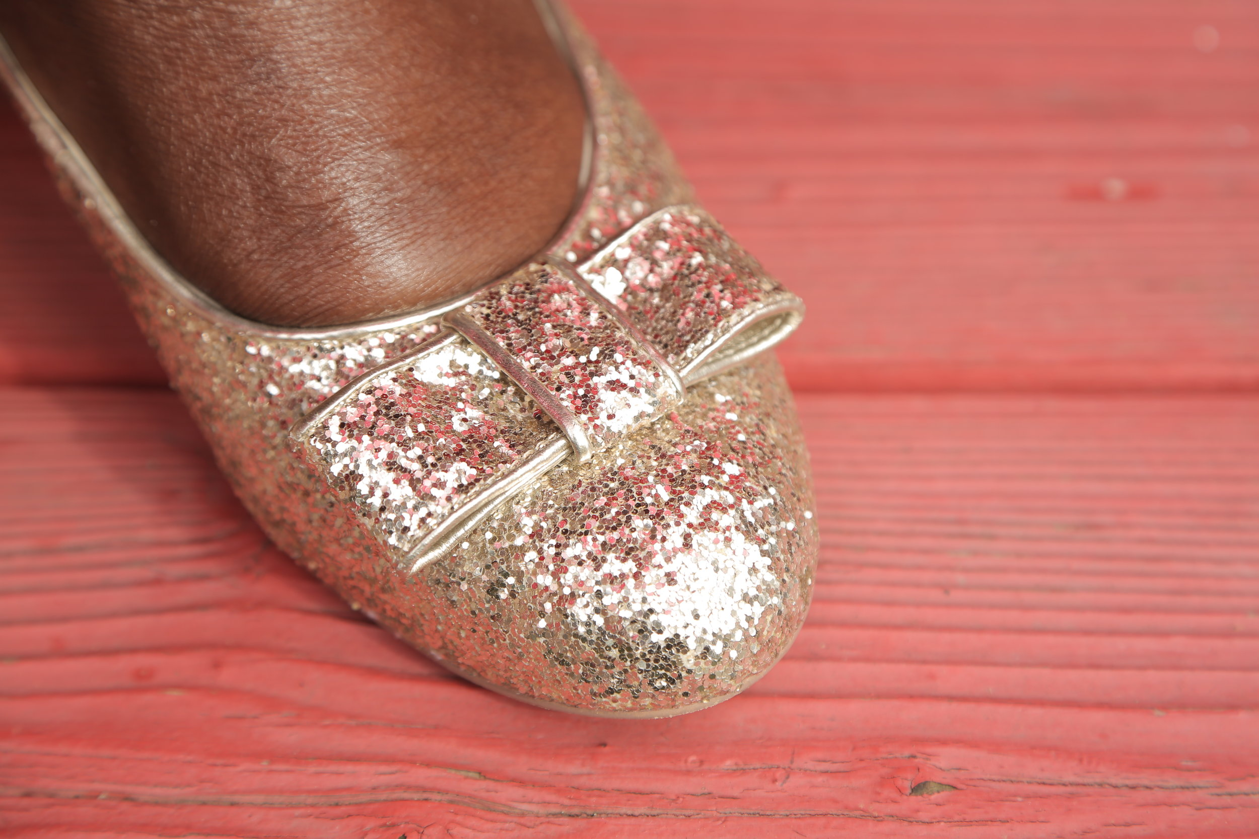 Any chance I get I am wearing glitter shoes. These are from Eloquii and they are my faves