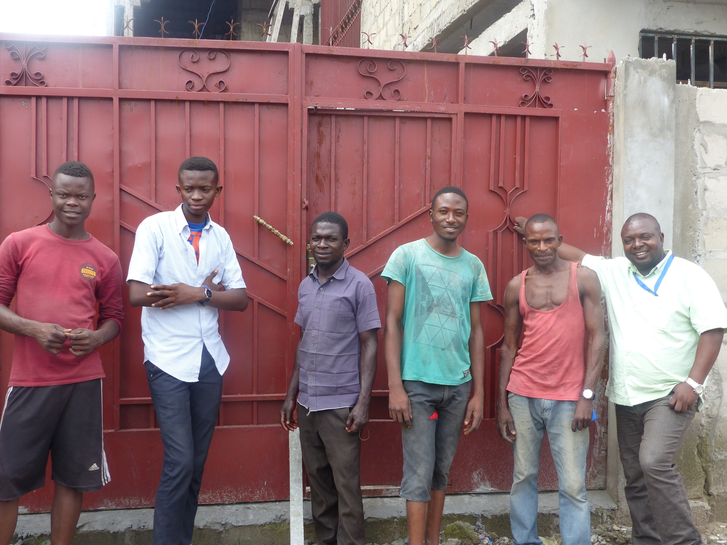 The workmen.