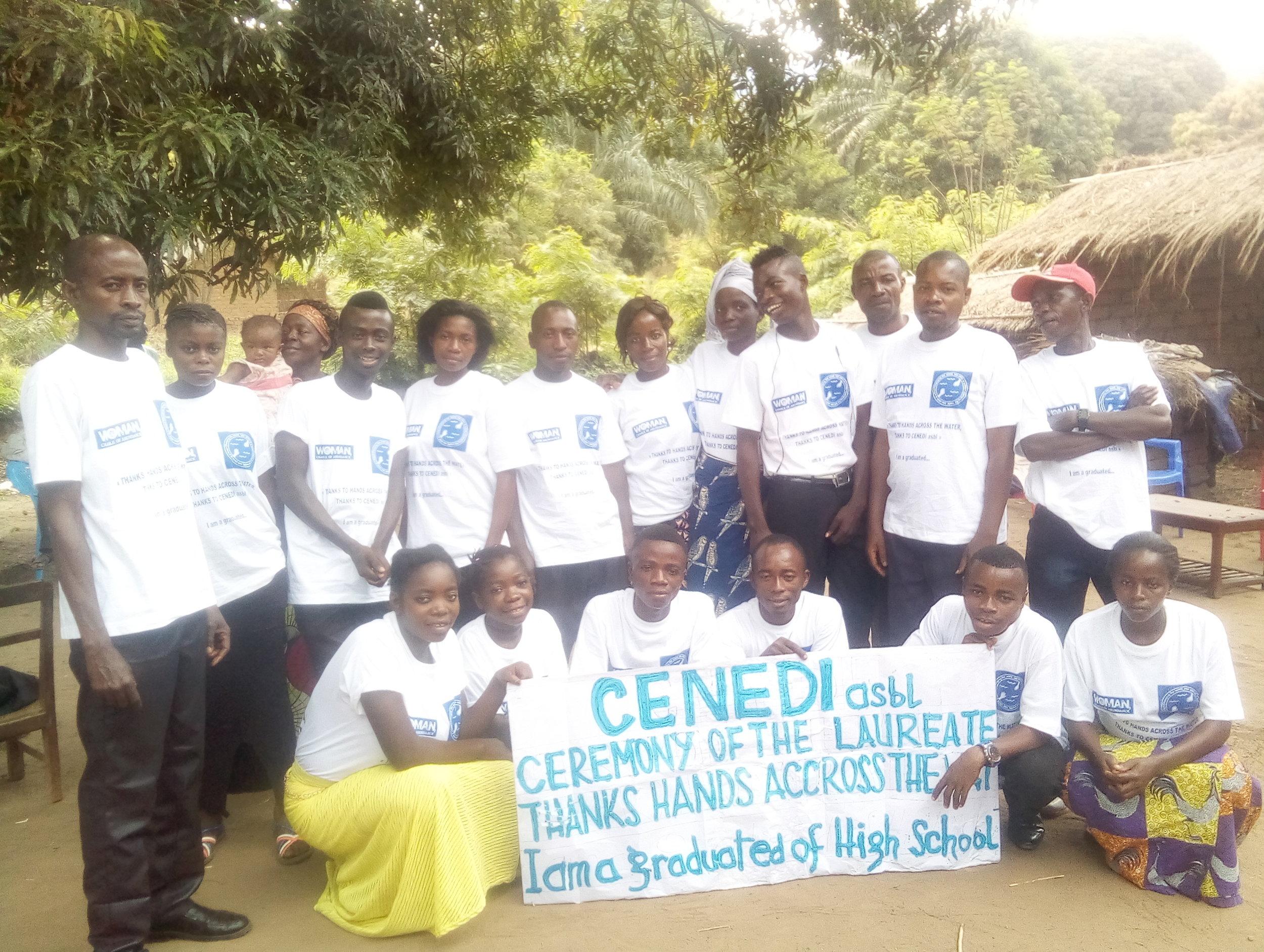 Celebration of our high school graduates - October 2018