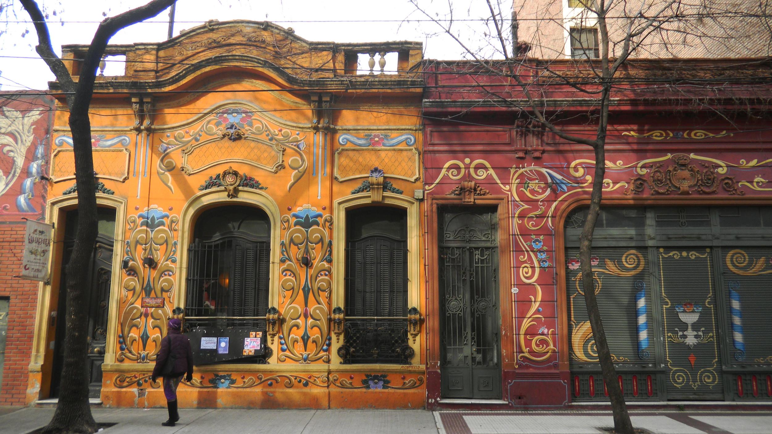 Fileteado Porteño - Artistically Adorned Building Facades in Buenos Aires