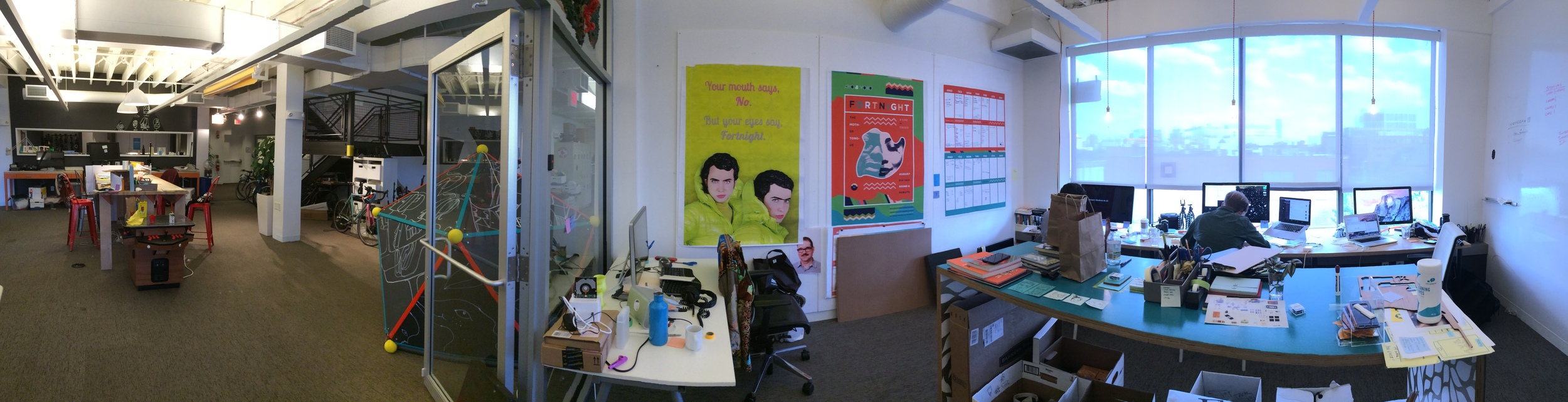 My Work Area + the Common maker space